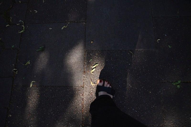 Sommerfüße in Sandalen
