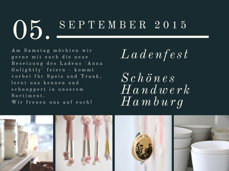 Ladenfest Anna Golightly